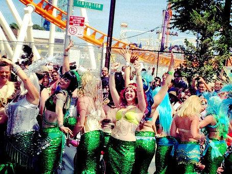 Mermaid Parade: Opening The Ocean For Summer 2015