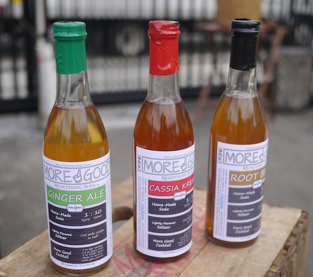 Drink More Good Soda Syrups at LIC Flea