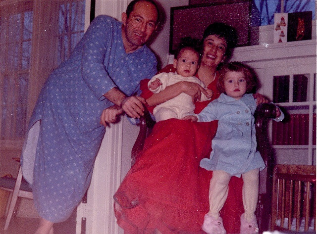 Family Christmas 1963 - without me!