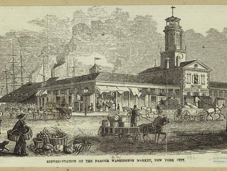 NYPL Releases Images of NYC's Market Heritage: Washington Market