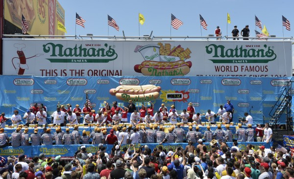 July 4 Nathan's hot dog contest