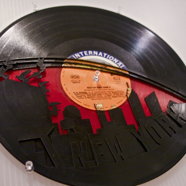 Wrecords by Monkey - Artisan Designs Made from Vinyl