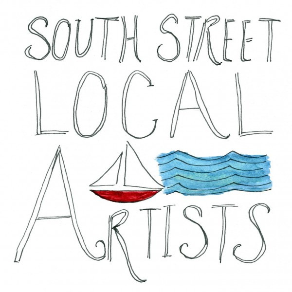 Look for the South Street Local Artists signs in the Seaport