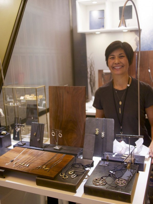 Meet Ann from Chikahisa Studio and her bold, flattering jewelry designs