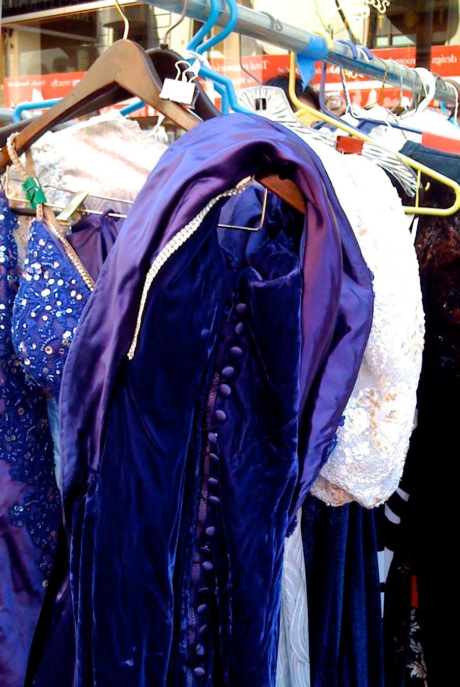 Broadway Cares Flea Market: Purple Sequined Costume