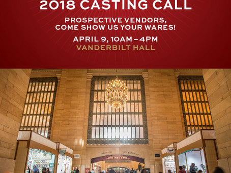Get Ready For The Grand Central Holiday Fair 2018 Casting Call