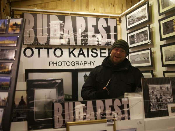 Otto Kaiser is an amazing photographer - his son was in the booth that night.