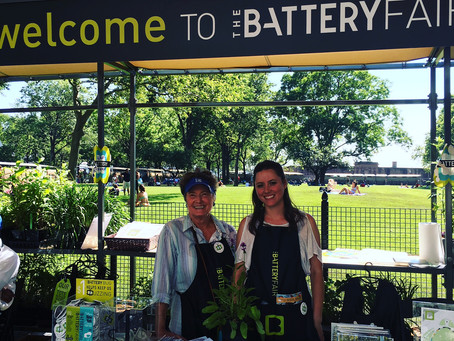 The New Battery Oval Opens Downtown With The Amazing Battery Fair