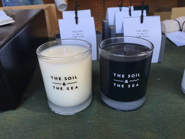The Soil & The Sea makes wonderful scented candles and soaps