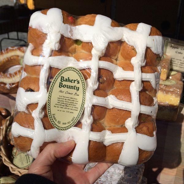 Baker's Bounty Hot Cross Buns in packs of a dozen for Easter