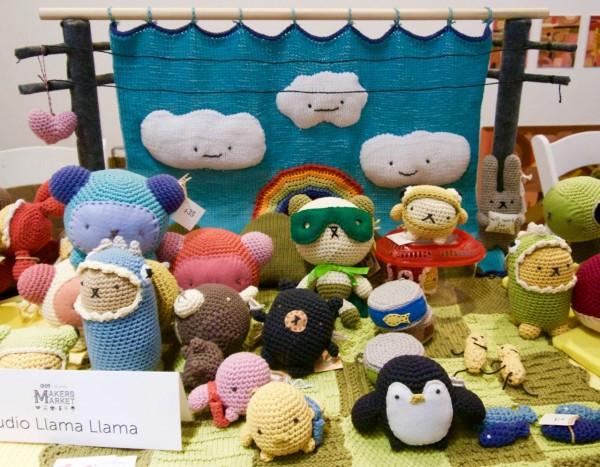 Studio Llama Llama Amigurumi Crocheted Creatures