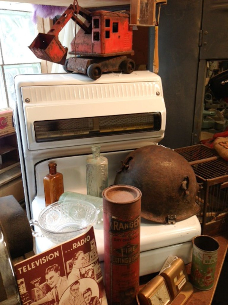 Estate Sale: Vintage scale, WWII helmet, ephemera and much more!
