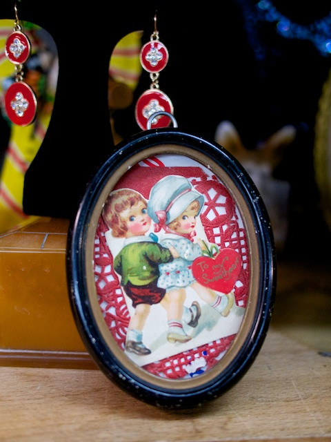 A sweet token of someone's affection from long ago - Abbottkinney Modern Vintage