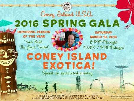 Get Your Tix For The Coney Island Spring Gala & Fundraiser
