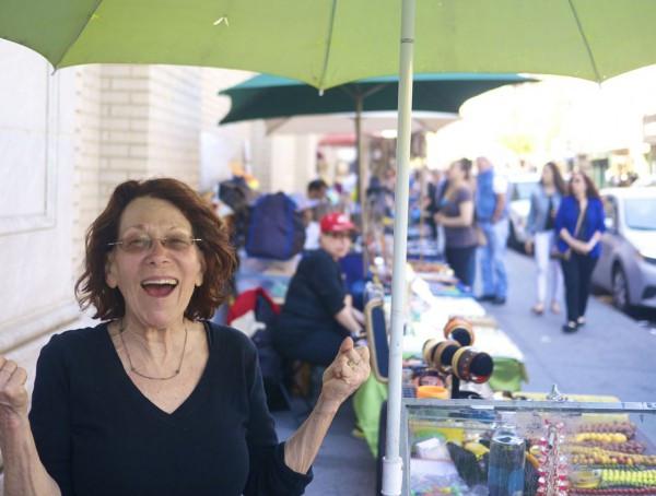 Sheila Strong, Bakelite Expert and Founder of the Bleecker Street Artisan & Flea Market