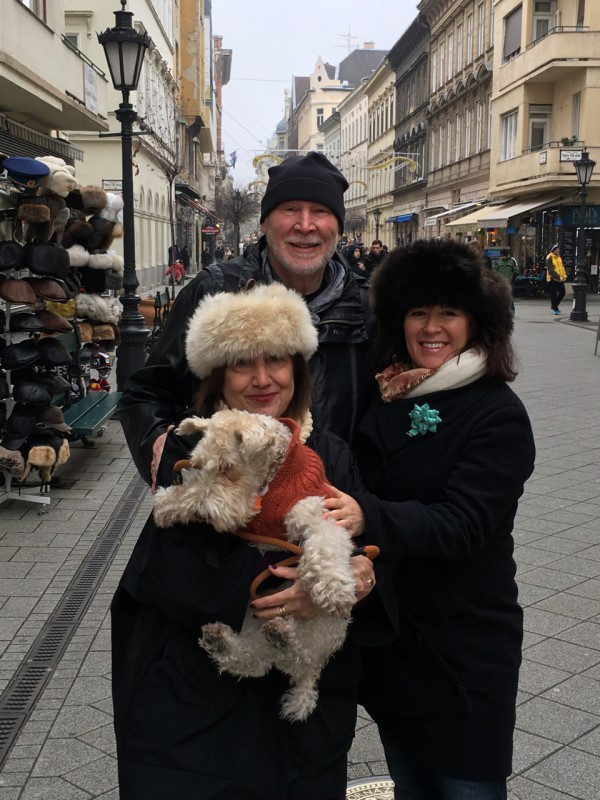 With Ami, George, and Asta Christmas 2015