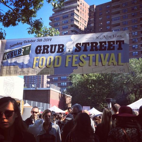Grub Street Food Festival - Sunday, October 18, 2015