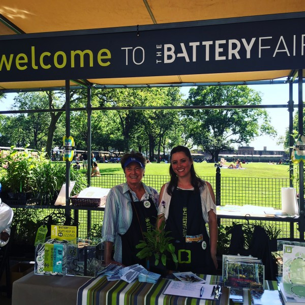 Thanks to the Battery Conservancy Volunteers for Hosting The Battery Fair!