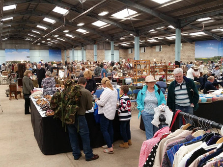 Guest Market: Wondering Through the Malvern Flea & Collectors Fair