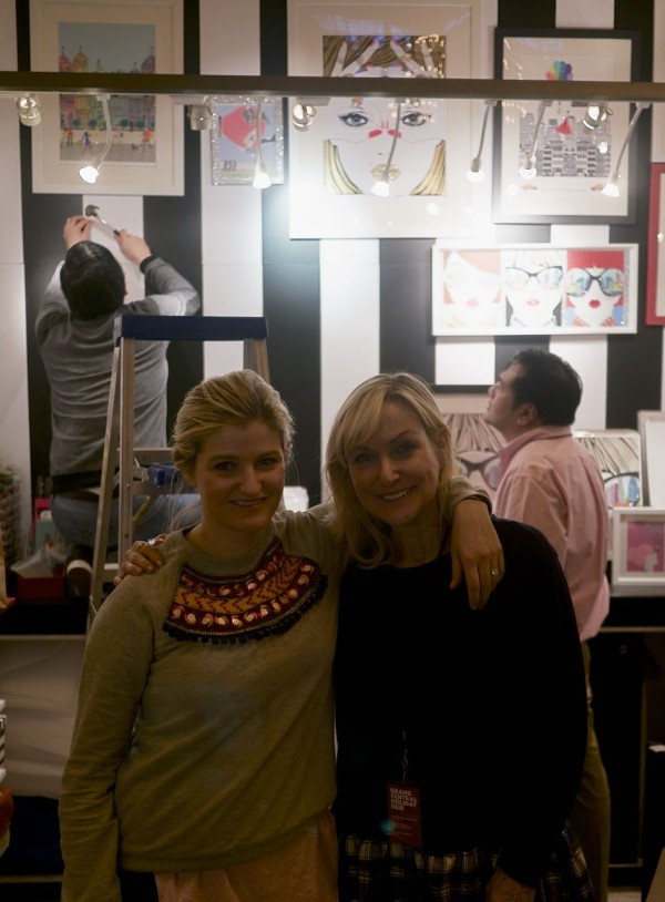 Ashleigh and Jude Verrier, talented designers of whimsical cards and prints at the Verrier Boutique