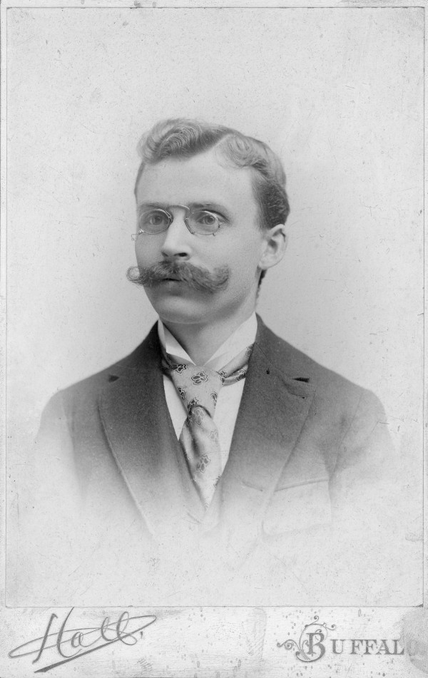 Darwin Martin and His Formidable Moustache (Photo courtesy of Ryan Gravell of the Graycliff Estate)