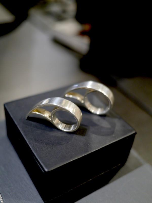 Else Van Dyke's Sterling silver Tsunami Ring