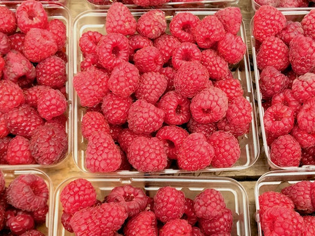 Raspberries Are Irresistible And Almost Too Beautiful To Eat — Almost
