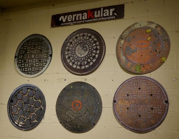 Vernakular Sewer Covers Wall