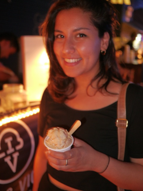 The Brilliant and Talented Maya Kaisth knows good ice cream when she sees it -- at the Brooklyn Night Bazzar