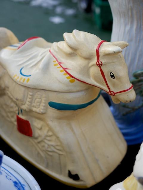 Rocking Horse Cookie Jar