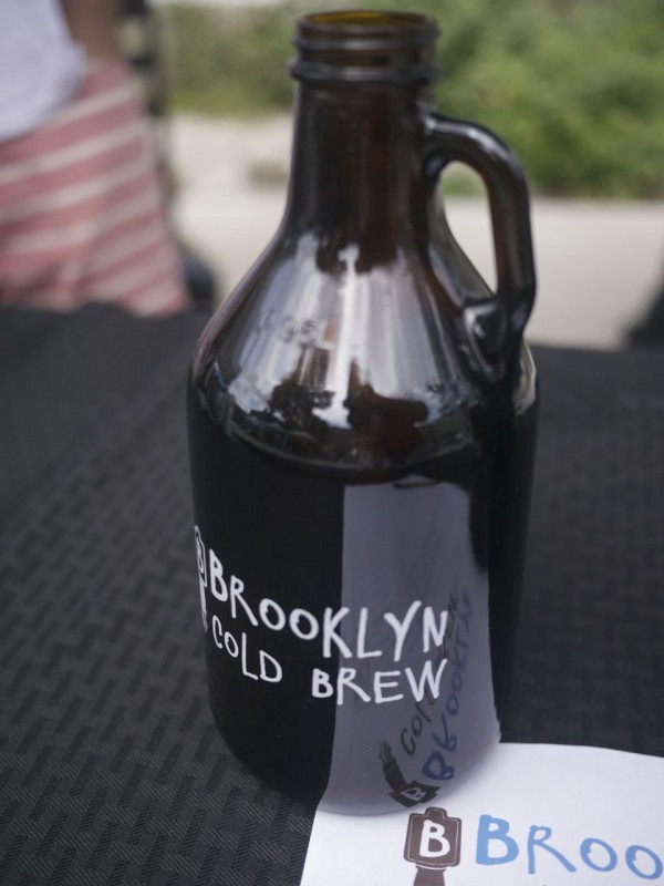 Pick up a Grumbler or a Growler of Brooklyn Cold Brew Craft Coffee