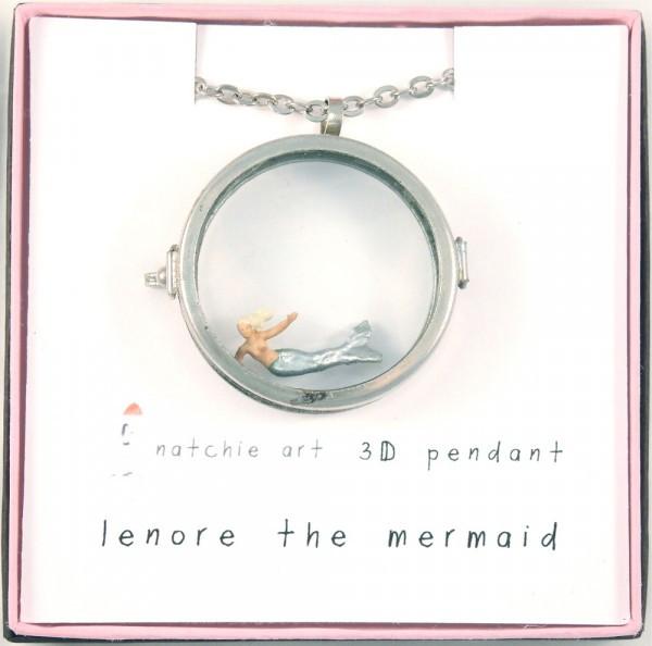 "Natchie Art's ""Lenore the Mermaid"""