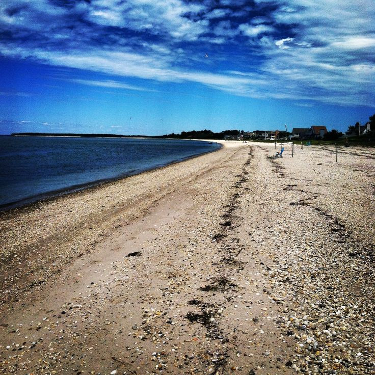 Matt's beloved beach on Peconic Bay