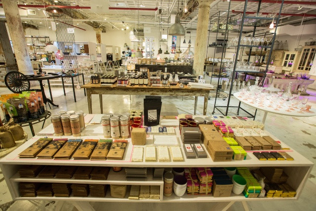 All the chocolates on this table are handmade by amazing chocolate companies