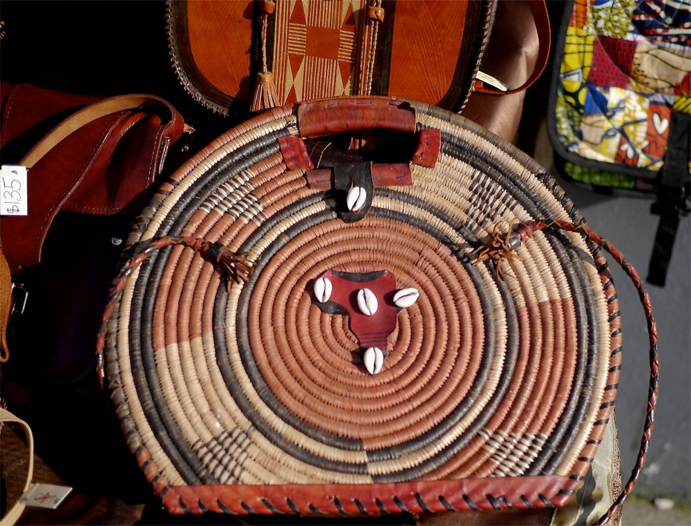Edline also sells beautiful handmade bags from Africa
