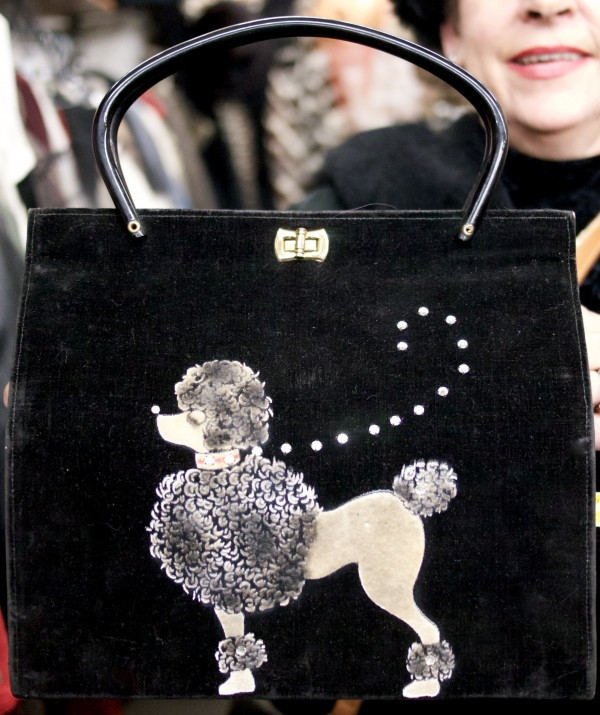 This Vintage Poodle Purse was sold immediately via Store With No Wall's Facebook Page!