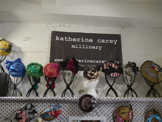 Katherine Carey Millinery at The Market NYC