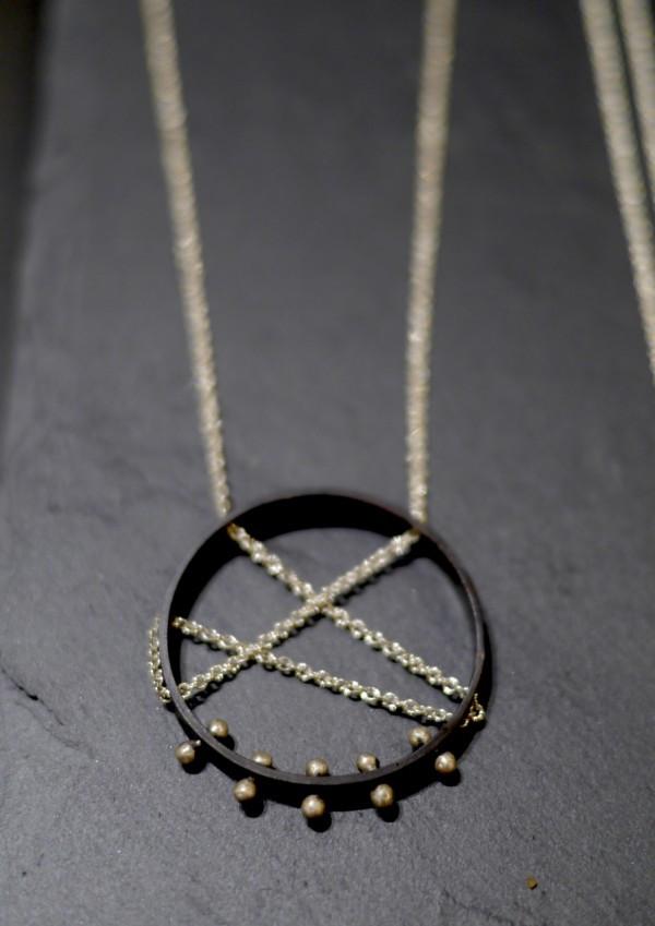 Elke Van Dyke Moonscape Necklace
