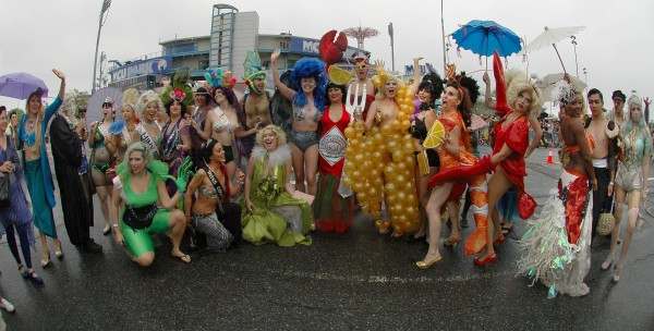 Meet me at the Mermaid Parade! © Norman Blake[all rights reserved]
