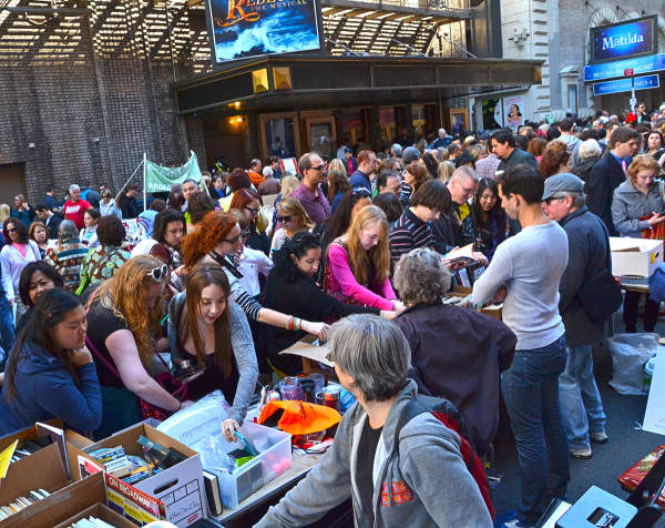 Broadway Cares Flea Market (Photo by OnStage blog