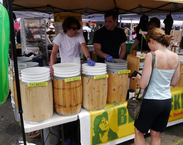 Horman's Best Pickle at LIC Flea & Food