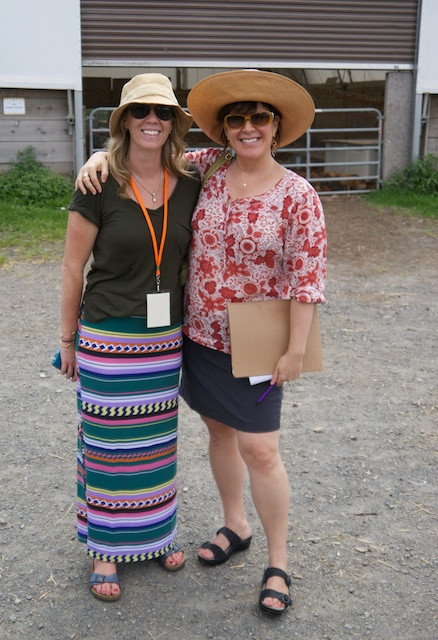 Hanging with Stone Barns Center's Laura Neil