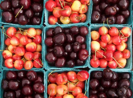 Weekend Market Picks July 15 & 16, 2017: Cherries & Ice Cream