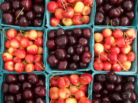 Weekend Market Picks July 15 & 16, 2017: Cherries & Ice Cream