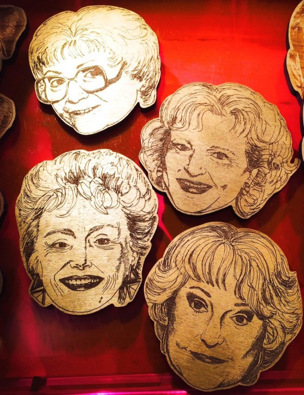 Golden Girls Coasters from Urban Cricket