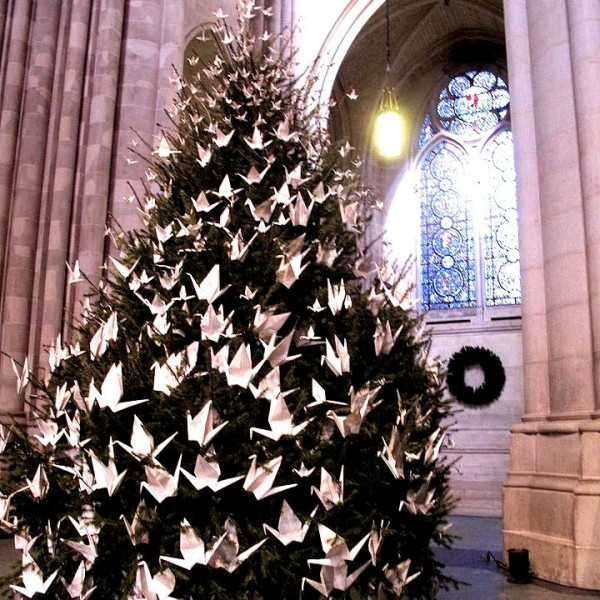 Peace Tree at St. John the Divine Cathedral (Photo courtesy of St. John the Divine)
