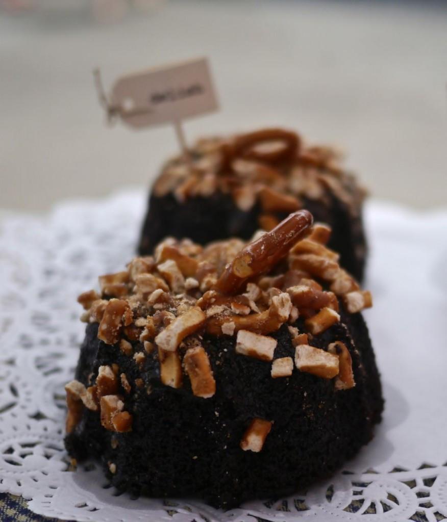 New Amsterdam Baking Co Double Chocolate Pretzel Cake