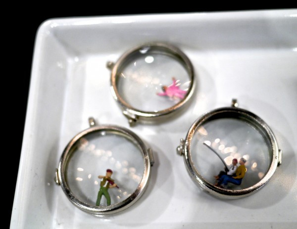 Natchie Art 3D Pendants feature sweet and meaningful miniature vignettes