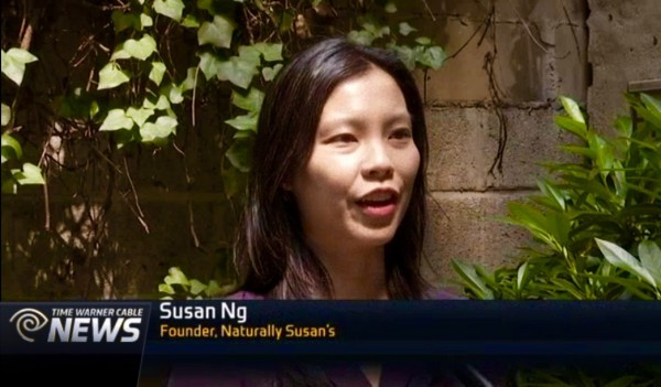 Susan Ng of Naturally Susan's Skincare Featured on NY1 News