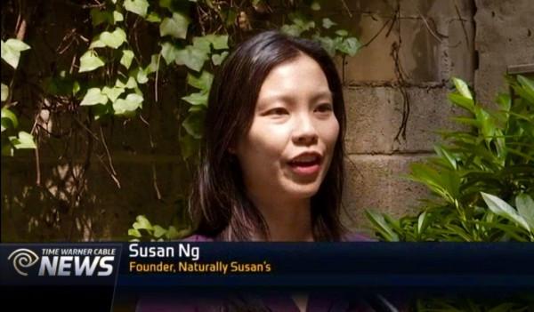 Susan Ng of Naturally Susan's Skincare Featured on NY1 News